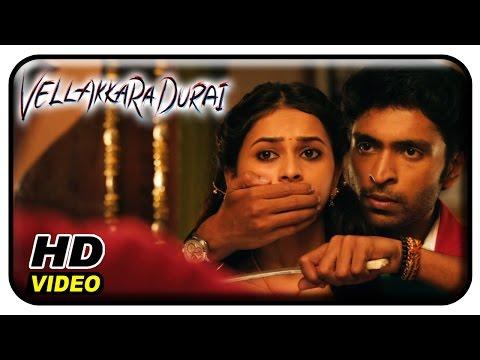 Vellaikaara Durai Movie Scenes | Vikram Prabhu falls for Sri Divya | Soori | John Vijay