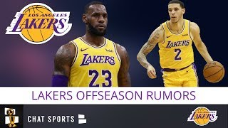 Lakers Rumors: 3 Huge 2019 Offseason Storylines For LeBron James & The Los Angeles Lakers