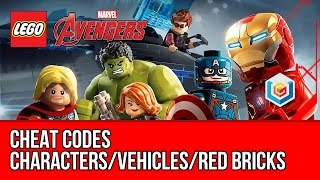 LEGO Marvel's Avengers - Cheat Codes (Characters/Vehicles/Red Bricks)