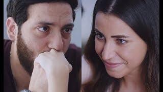 """مشهد رومانسي رائع بين مروان وندى 😍😍🙈 """" اصلي بحبك ... انا بحبك اوي """" - الأب الروحي"""
