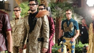 DOLCE AND GABBANA : Backstage with Dolce and Gabbana at Alta Sarotria Mens Show