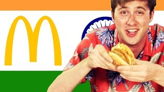 Americans Try Indian McDonald's