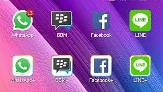 cara buat 2 akun dalam 1 Handphone (WhatsApp, BBM, line, dll) no root
