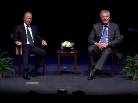 Daniels, GE's Immelt hold public discussion on innovation, talent