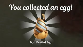 How to find the Dust Deviled Egg in Roblox / 2017 Egg Hunt The Lost Eggs Challenge / Gamer Chad