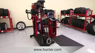 Hunter's Revolution Tire Changer