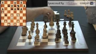 Arkadij Naiditsch vs. Colin McNab, Scottish Blitz Chess Championship 2014