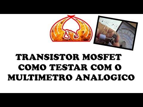 TRANSISTOR MOSFET COMO TESTAR COM O MULTIMETRO ANALOGICO