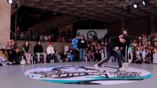 Tvik vs Monya [Solo Pro Semi-Final] // Bboy World // Bitva Kharkova 2017