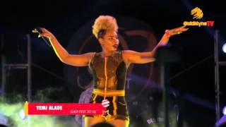YEMI ALADE DAZZLES AUDIENCE AT #GIDIFEST2016 PERFORMING