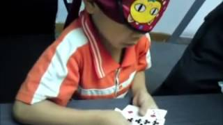 Genius Discovery.supersmart child.midbrain activation.blindfold reading.
