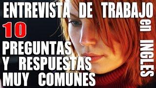 10 Preguntas y Respuestas Comunes en una Entrevista de Trabajo en Inglés para Hispanohablantes