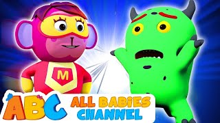 SUPERHERO Finger Family Song and more 3D Nursery Rhymes For Kids By All Babies Channel