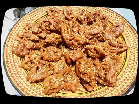 Ramadan spécialité طريقة تحضيرالشباكية السهلة والناجحة Chebakia Mkharka