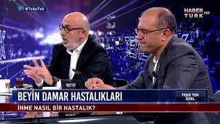 """Teke Tek Özel - 22 Ekim 2017 """"Beyin Damar Hastalıkları"""" (Serdar Geyik,Yakup Krespi )"""