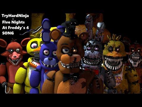 Xxx Mp4 SFM FNAF Five Nights At Freddy 39 S 4 SONG By TryHardNinja 3gp Sex