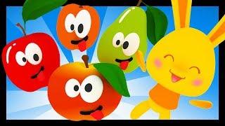 Pomme pêche poire abricot - 50 min de comptines pour bébés - Titounis