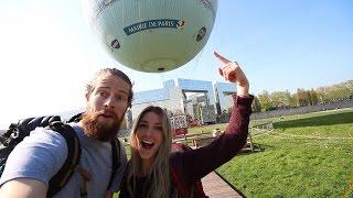 Hot Air Balloon Ride In Paris France!