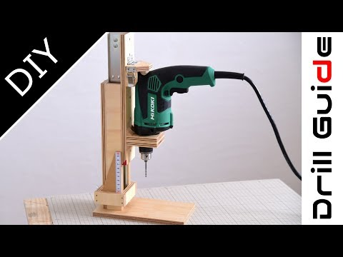 Xxx Mp4 How To Build A Drill Press Drill Guide Machine Handmade Drill Stand 3gp Sex