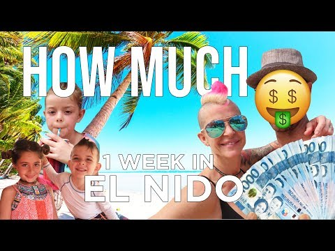 How Much Does 1 Week in El Nido Cost Palawan Philippines