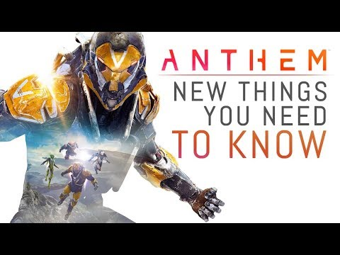 ANTHEM 10 NEW Things You NEED TO KNOW