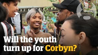 #grime4corbyn: 'I've never trusted a politician before' | General election 2017