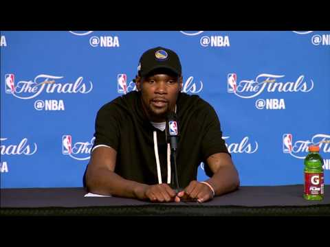 Stephen Curry, Kevin Durant NBA Finals Game 4 Press Conference