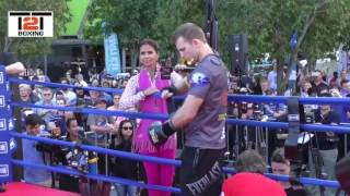 WAR HORNET! IS JEFF HORN THE MAN TO SEND MANNY PACQUIAO INTO RETIREMENT??? - OFFICIAL PUBLIC WORKOUT