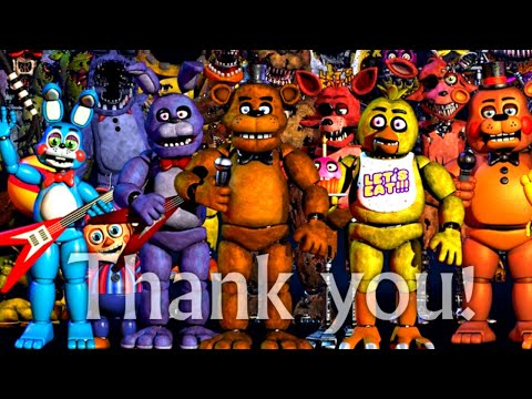 Xxx Mp4 All FNAF Characters Sing The FNAF Song 3gp Sex