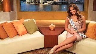 Entrevista a Miss Venezuela  2013, Migbelis Castellanos en Un Nuevo Dia Telemundo