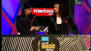 sonu nigam & shaan checking caller tunes of artists