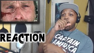 REACTION to Walking Dead Season 7 Episode 1 Negan & Death 7x1
