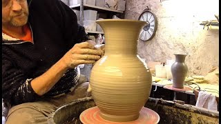 Making some bigger Pottery Vases ( Logan Paul not included )