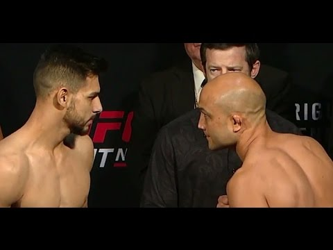 watch BJ Penn vs Yair Rodriguez UFC Fight Night Weigh-In   (Main Event)