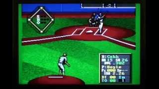 Hardball! - Sega Genesis Longplay and Review (Retro Sunday)