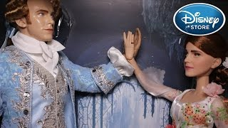 Disney Store - Belle & The Prince Live Action - Platinum Doll Set REVIEW