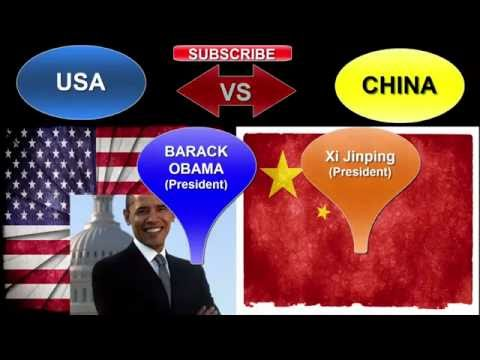 watch USA vs CHINA | Military Power Comparison 2016 | China Army vs USA Army