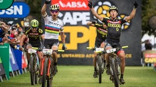 Overall Lead - Cape Epic Stage 5   SCOTT-SRAM