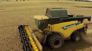 North East Scotland & Borambil Wheat Harvest 2016