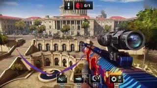Sniper Fury - HD Gameplay/Walkthrough Chapter 7 Washington SNIPER MISSIONS