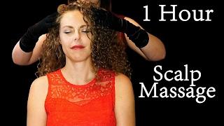 Zzzzz… ASMR No Talking Head Massage & Hair Play - Binaural Sounds For Sleep