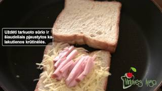 Keptas sumuštinis | Virtuves Lyga