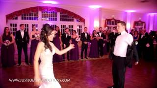 Amazing First Dance- Bride and Groom kill it at their wedding!- Stephanie & Steve- Belvoir Mansion