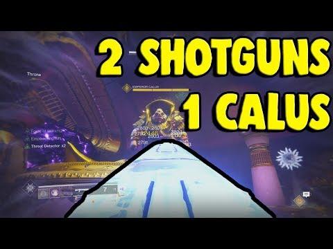 Xxx Mp4 2 Shotguns 2 Guardians 1 Calus Destiny 2 3gp Sex