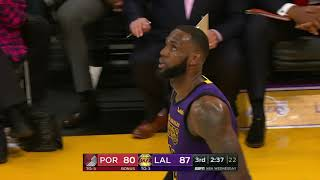 Portland Trailblazers vs Los Angeles Lakers | November 14, 2018