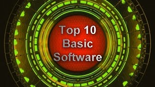 Top 10 Basic Software For Windows 2017 | Useful Software for PC