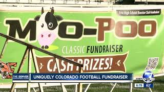Erie High School Booster Club's 'Moo Poo Classic' fundraiser is exactly what it sounds like