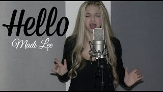 Hello - Adele  (Madi Lee Official Cover Video)