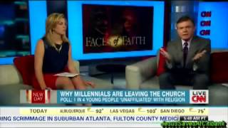 CNN Report on Atheism Rising Among Millenials