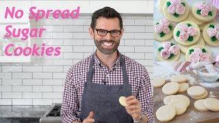 How to Make No Spread Sugar Cookies